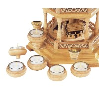 Müller Kerzenhalteraufsatz für Teelichte 6 Stück