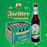 Fiedler Erzgebirgsbier - Dampflokbier - 0,5l