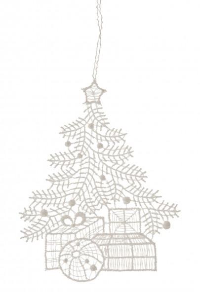 Dregeno Erzgebirge - Behang Baum mit Geschenken