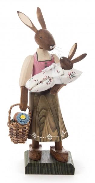 Dregeno Erzgebirge - Hasenmädchen mit Baby