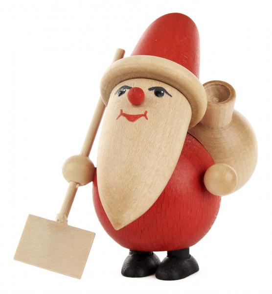 Dregeno Erzgebirge - Weihnachtsmann mit Schneeschaufel