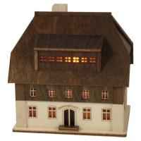 Lenk & Sohn Lichterhaus Spielzeugschachtel Seiffen