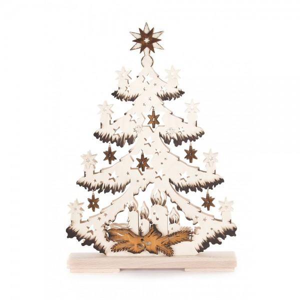 RATAGS - Tannenbaum mit kleinen Sternen - elektrisch beleuchtet
