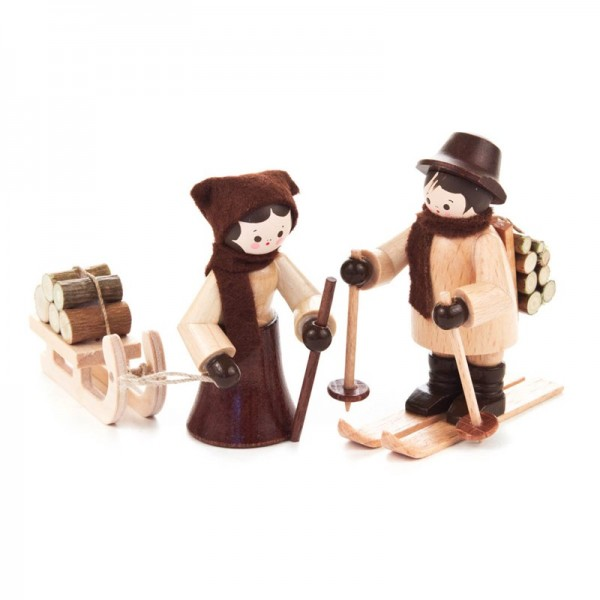 Dregeno Erzgebirge - Miniatur-Holzleute, klein