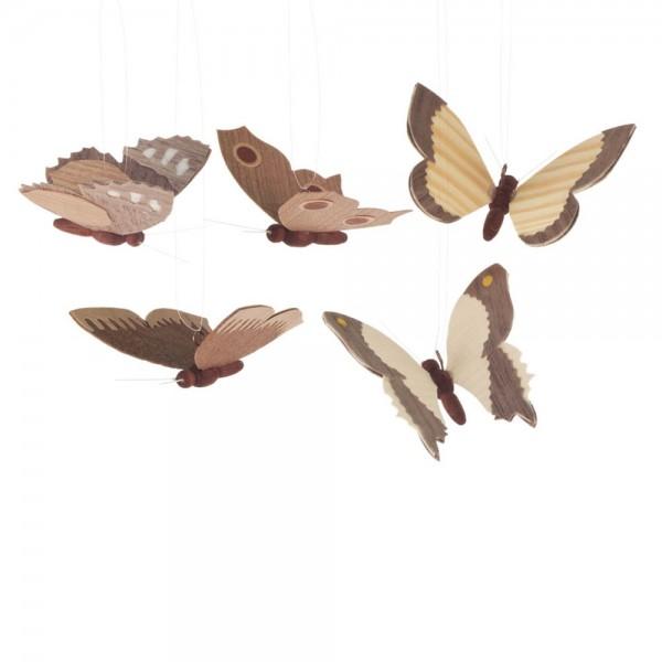 Dregeno Erzgebirge - Behang - Schmetterlinge, natur, 5-teilig