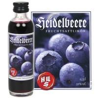 HUS-Probieraktion Fruchtsaftlikör Heidelbeere 0,04l