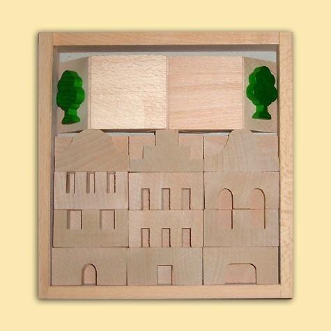 Ebert Holzbaukasten Architektur Nr.1 41 Teile