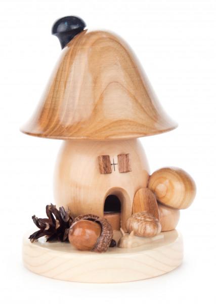 Dregeno Erzgebirge - Räucherpilz Glockenform, groß
