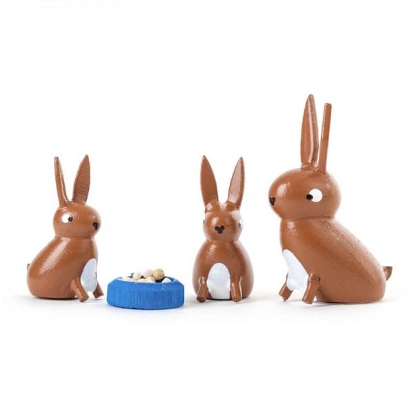 Dregeno Erzgebirge - Miniatur-Hasenfamilie