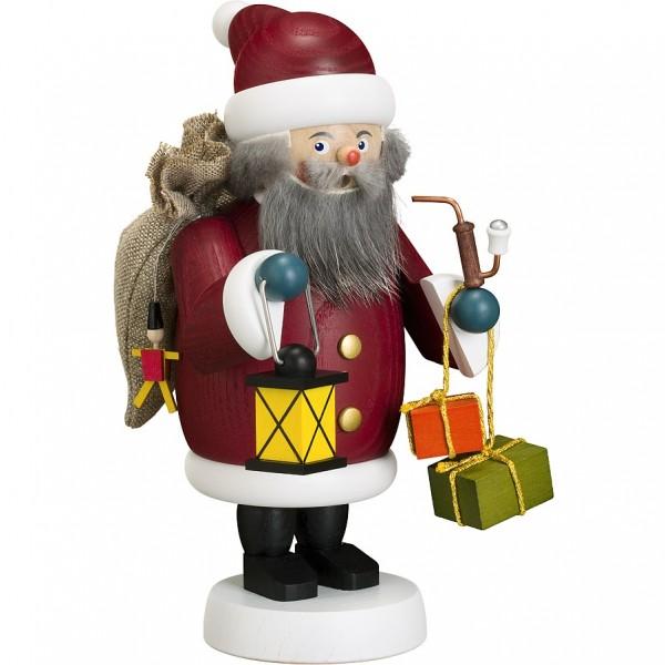Seiffener Volkskunst Gemütliche Typen Räuchermann Weihnachtsmann