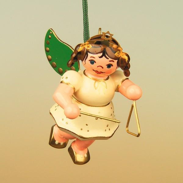 Hubrig Baumbehang Engel mit Triangel