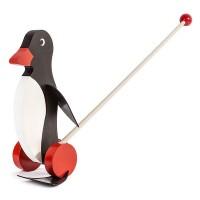 Restposten: Dregeno Erzgebirge - Miniatur-Watschel-Pinguin, Stab abnehmbar