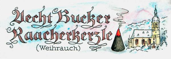 Dregeno Erzgebirge - Bucker Räucherkerzen (24) Weihrauch