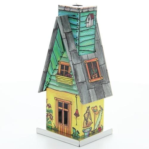 HELA Räucherhäusel - Gartenhäusel mit Spitzdach