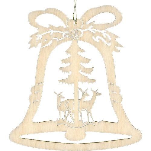 Lenk & Sohn Baumbehang Glocke Motiv Waldtiere