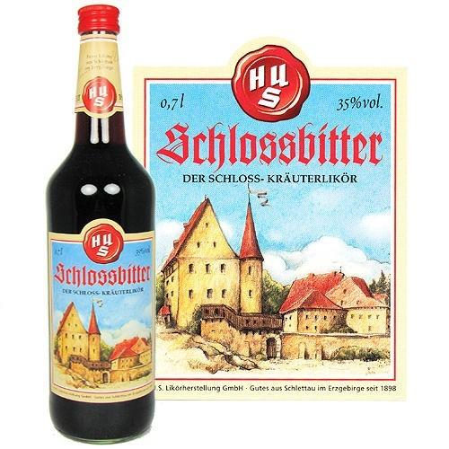 Schlossbitter 0,7l Glasflasche