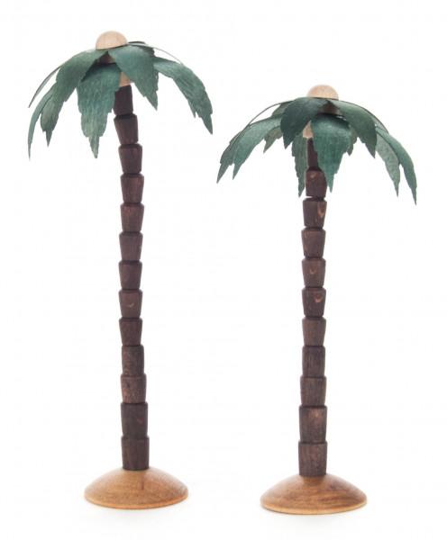 Dregeno Erzgebirge - Palmen farbig, 11/14cm (2)
