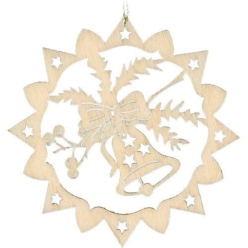 Lenk & Sohn Baumbehang Stern Motiv Glocke
