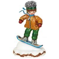 Hubrig Neuheit 2014 - Winterkinder Snowboardfahrer