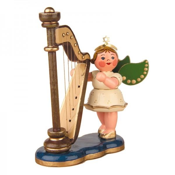 Hubrig Engel mit Harfe 6,5cm
