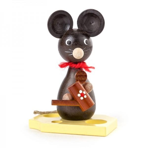 Dregeno Erzgebirge - Miniatur-Maus mit Gießkanne
