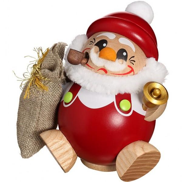 Seiffener Volkskunst Kugelräucherfigur Nikolaus