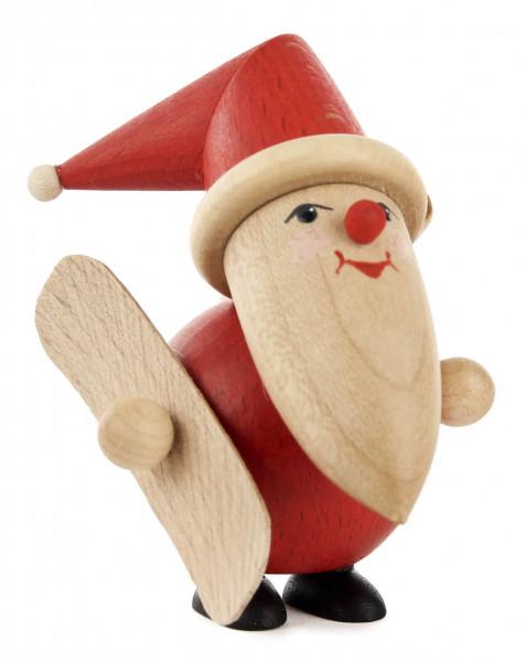 Dregeno Erzgebirge - Weihnachtsmann mit Snowboard