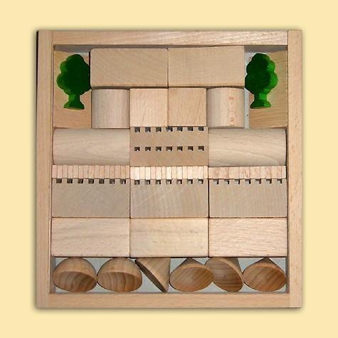 Ebert Holzbaukasten Architektur Nr.2 41 Teile
