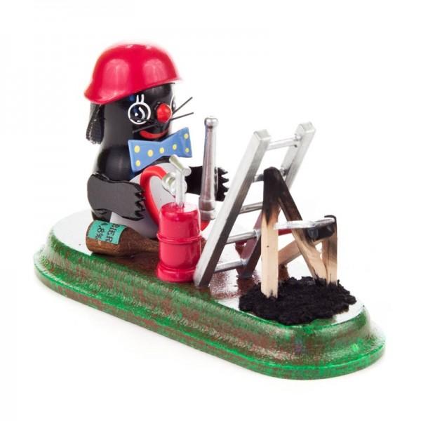 Dregeno Erzgebirge - Miniatur-Maulwurf Feuerwehrmann