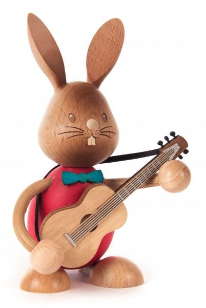 Dregeno Erzgebirge - Hase »Stupsi« mit Gitarre