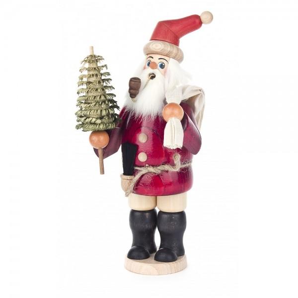 Dregeno Erzgebirge - Räuchermann Weihnachtsmann - 25cm