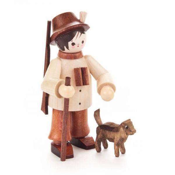 Dregeno Erzgebirge - Miniatur-Förster mit Hund