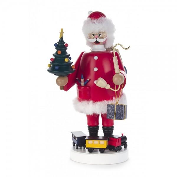 Dregeno Erzgebirge - Räuchermann Weihnachtsmann - 23cm