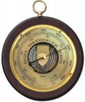 Fischer Barometer Pascal mit Holzgehäuse 170mm