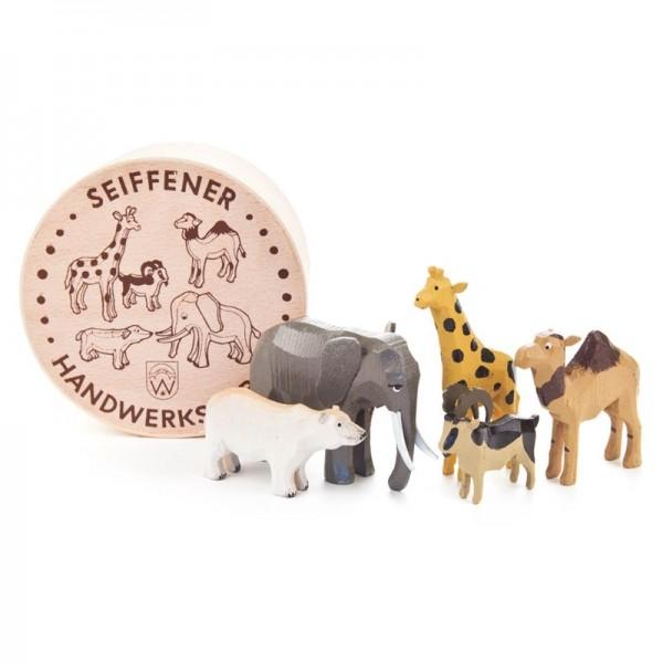 Dregeno Erzgebirge - Miniatur-Zootiere in Spandose