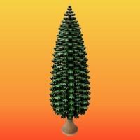 Lenk & Sohn Erzgebirgischer Schichtenbaum Nadelbaum 50cm grün