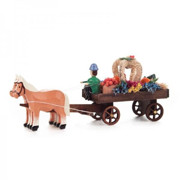 Dregeno Erzgebirge - Miniatur-Erntedankwagen