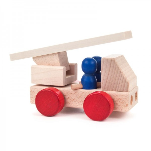 Dregeno Erzgebirge - Miniatur-Feuerwehr, 3-teilig, zerlegbar