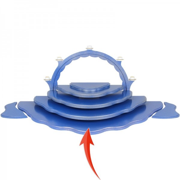 Uhlig Engel, Unterbauetage 5 für Wolkenstecksystem blau/gold