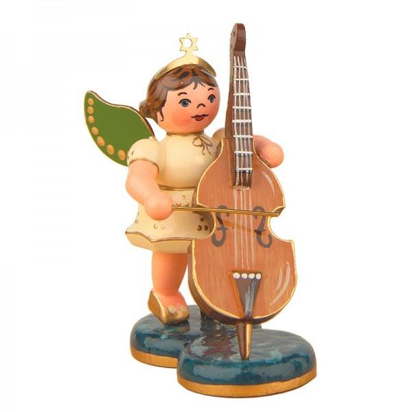 Hubrig Engel mit Kontrabass 6,5cm