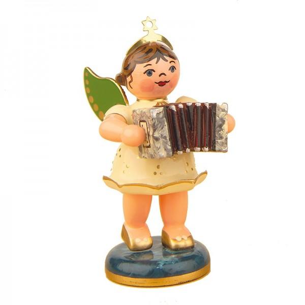 Hubrig Engel mit Ziehharmonika 6,5cm