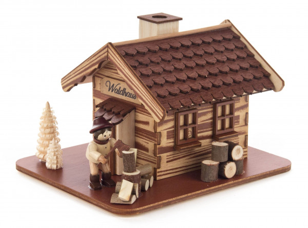 Dregeno Erzgebirge - Räucherhaus »Waldhaus« mit Holzmacher