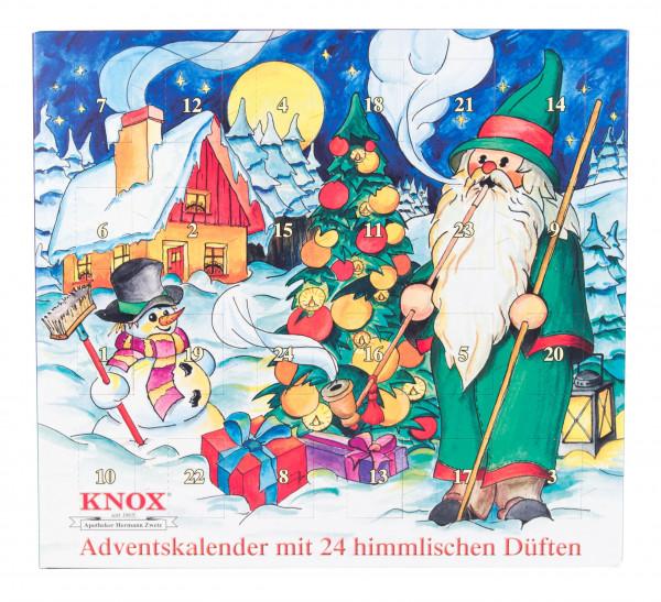 Dregeno Erzgebirge - KNOX Adventskalender 24 himmlische Düfte
