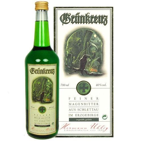 Grünkreuz 0,7l Glasflasche