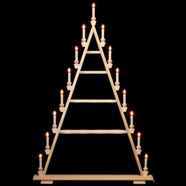 Holzkunst Niederle - Lichterspitze 5 Etagen - leer