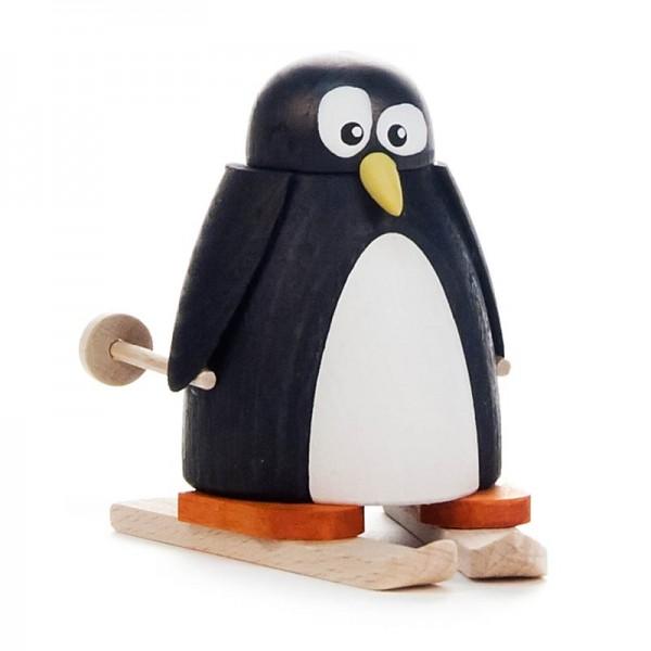 Dregeno Erzgebirge - Pinguin auf Ski