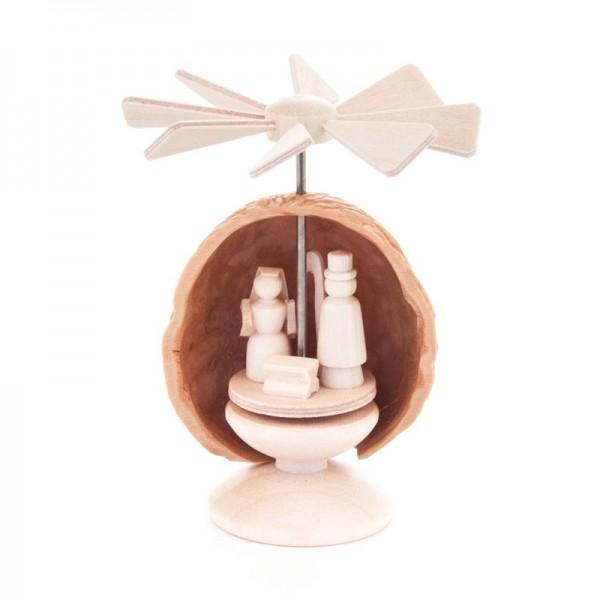 Dregeno Erzgebirge - Miniatur-Nusswärmespiel, Christi Geburt