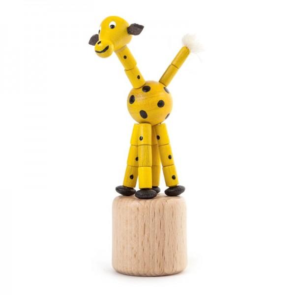 Dregeno Erzgebirge - Miniatur-Wackeltier Giraffe