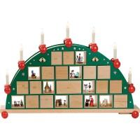 Richard Glässer Adventsschwibbogen Adventskalender
