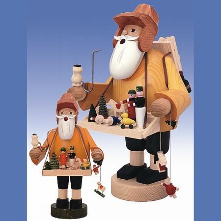 KWO Räuchermann Erzgebirge Spielzeughändler 35cm
